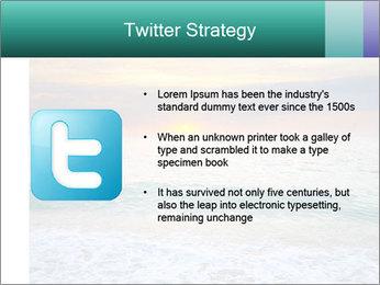 Seaside Sunset PowerPoint Templates - Slide 9