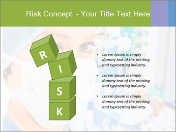Medical Nurse In Mask PowerPoint Templates - Slide 81