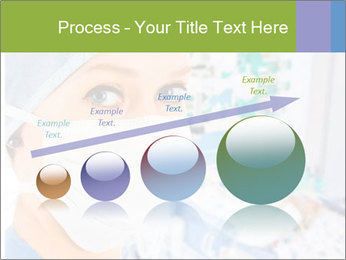 Medical Nurse In Mask PowerPoint Templates - Slide 87