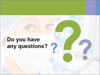Medical Nurse In Mask PowerPoint Template - Slide 96