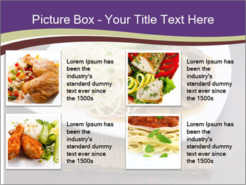 Chinese Noodles Served With Meat PowerPoint Template - Slide 14