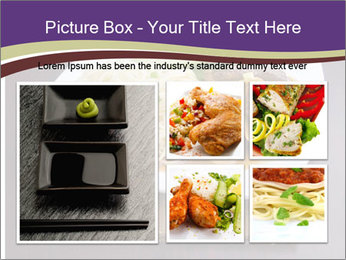 Chinese Noodles Served With Meat PowerPoint Template - Slide 19