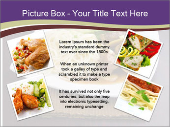 Chinese Noodles Served With Meat PowerPoint Template - Slide 24