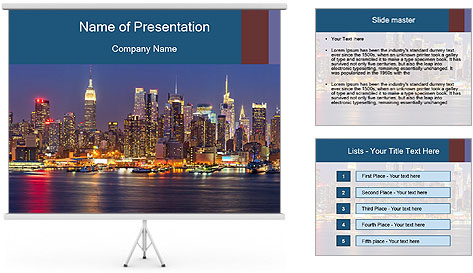 New York PowerPoint Template