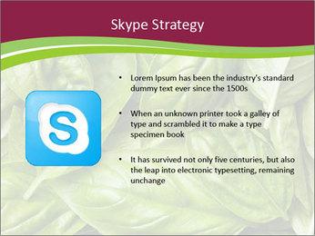 The fresh basil leaves PowerPoint Template - Slide 8