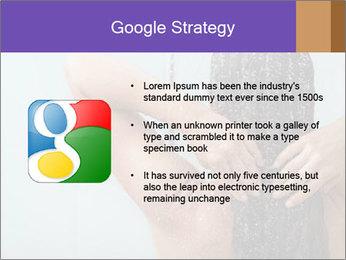 Woman washing long hair PowerPoint Templates - Slide 10