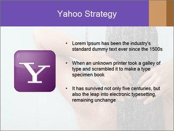 Woman washing long hair PowerPoint Templates - Slide 11
