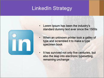 Woman washing long hair PowerPoint Templates - Slide 12