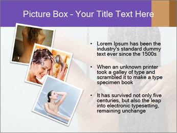 Woman washing long hair PowerPoint Templates - Slide 17
