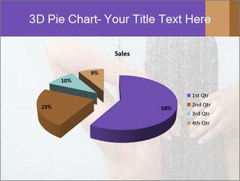 Woman washing long hair PowerPoint Templates - Slide 35