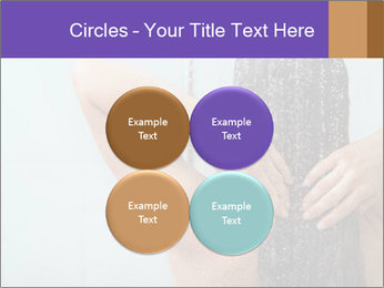 Woman washing long hair PowerPoint Templates - Slide 38