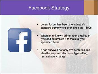 Woman washing long hair PowerPoint Templates - Slide 6