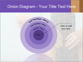 Woman washing long hair PowerPoint Templates - Slide 61