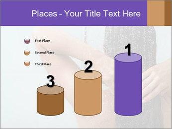 Woman washing long hair PowerPoint Templates - Slide 65