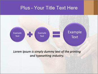 Woman washing long hair PowerPoint Templates - Slide 75