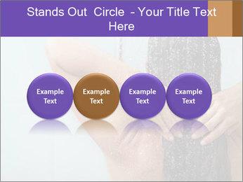 Woman washing long hair PowerPoint Templates - Slide 76