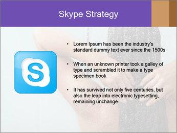 Woman washing long hair PowerPoint Templates - Slide 8