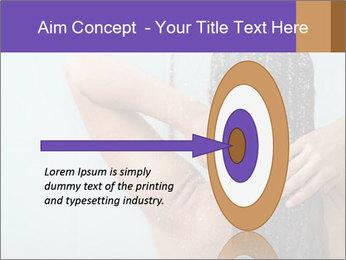 Woman washing long hair PowerPoint Templates - Slide 83