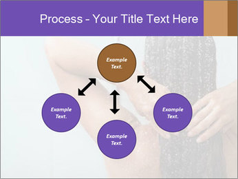 Woman washing long hair PowerPoint Templates - Slide 91