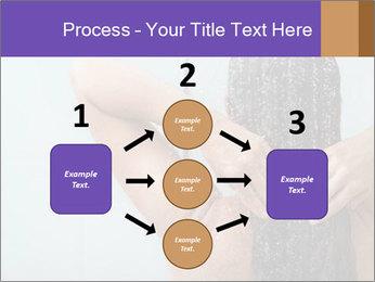 Woman washing long hair PowerPoint Templates - Slide 92