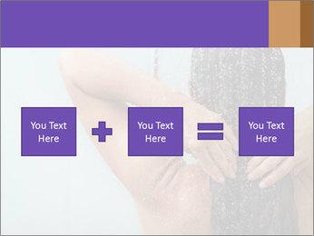 Woman washing long hair PowerPoint Templates - Slide 95