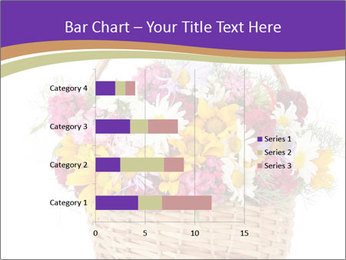 Beautiful bouquet of bright wildflowers PowerPoint Template - Slide 52