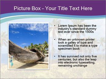 Palm trees PowerPoint Template - Slide 13