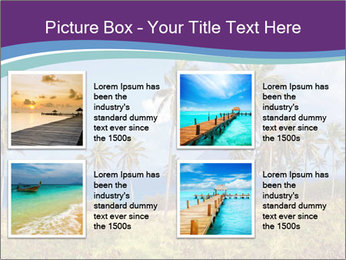 Palm trees PowerPoint Template - Slide 14