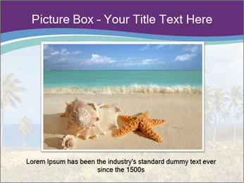 Palm trees PowerPoint Template - Slide 15