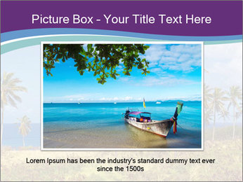 Palm trees PowerPoint Template - Slide 16