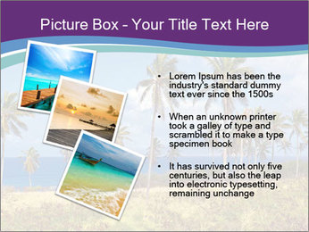 Palm trees PowerPoint Template - Slide 17