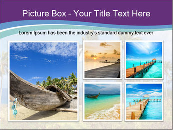 Palm trees PowerPoint Template - Slide 19