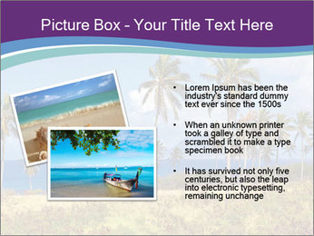 Palm trees PowerPoint Template - Slide 20