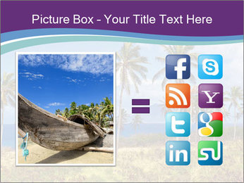 Palm trees PowerPoint Template - Slide 21