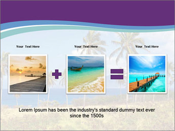 Palm trees PowerPoint Template - Slide 22