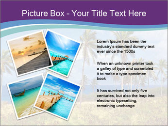 Palm trees PowerPoint Template - Slide 23