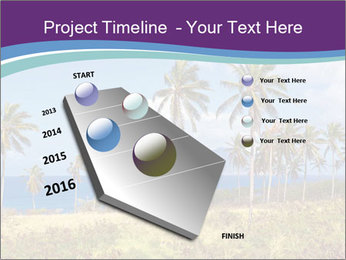 Palm trees PowerPoint Template - Slide 26