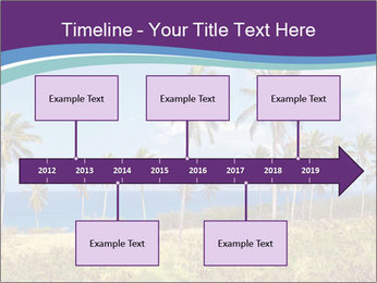 Palm trees PowerPoint Template - Slide 28