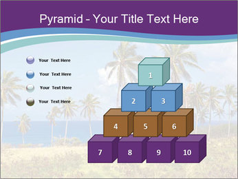 Palm trees PowerPoint Template - Slide 31
