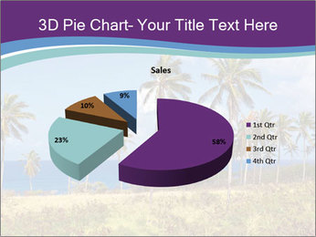 Palm trees PowerPoint Template - Slide 35