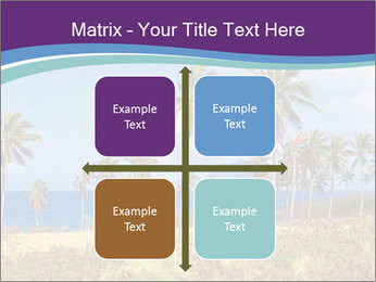 Palm trees PowerPoint Template - Slide 37