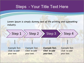 Palm trees PowerPoint Template - Slide 4