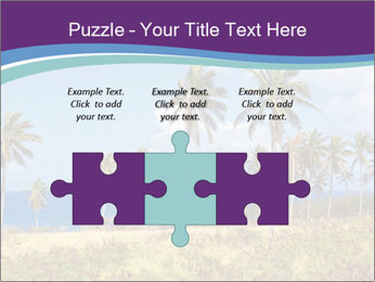 Palm trees PowerPoint Template - Slide 42