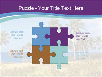 Palm trees PowerPoint Template - Slide 43