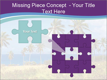 Palm trees PowerPoint Template - Slide 45