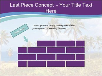 Palm trees PowerPoint Template - Slide 46