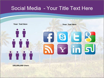 Palm trees PowerPoint Template - Slide 5