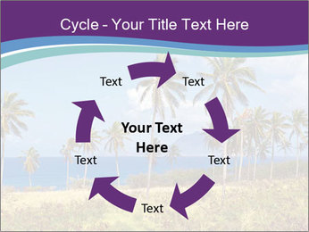 Palm trees PowerPoint Template - Slide 62