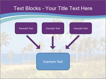 Palm trees PowerPoint Template - Slide 70