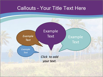 Palm trees PowerPoint Template - Slide 73